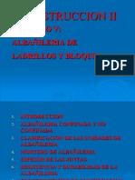 CONSTRUCCION II-CAP V- ALBAÑILERIA (R4)