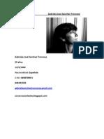 Curriculum Gabriela