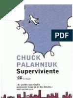 68164000 Palahniuk Chuck Superviviente