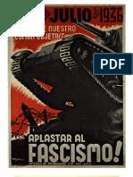 Carteles Anarquistas de La Guerra Civil - Revolucion Española