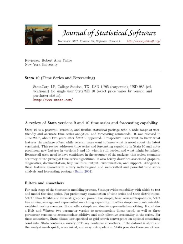 Forecasting Stata | Vector Autoregression | Time Series