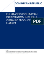 Enhancing Dominican Participation in the u.s. Organic Produce Market