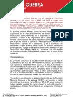 20-09-11 PUNTO DE ACUERDO DEFRAUDADOS HÉRON DE MEXICO