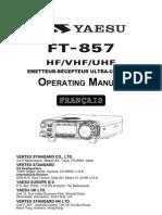 FT857 Manual