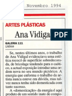 Ana Vidigal.  Por.  Visao, 3 Nov. 1994