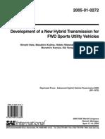 Hybrid Transmission for FWD Vehicles