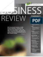 Monthly Business Review - August 2011