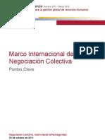 Marco Internacional de la Negociación Colectiva