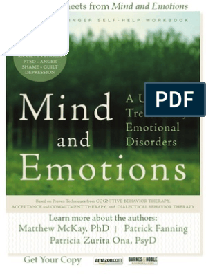 Mind and Emotions: A Universal Treatment for Emotional