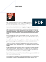 Biografía de Rubén Darío