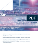 AGC - Asahi Glass Overview - 31 July 06