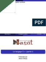 Cours-C++(partie I )_