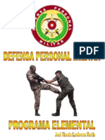 Defensa Personal Militar, Programa Elemental(3)(2)