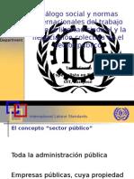 Diálogo social y normas internacionales del trabajo sobre la libertad sindical y la negociación colectiva en el sector público