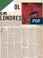 Andy Warhol. Hayward Gallery, London. Por.  O Independente 1989
