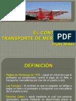 Derecho Maritimo - Transporte de Mercancias