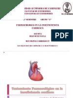 Tratamiento Farmacológico en la insuficiencia cardiaca II