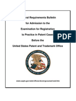 USPTO Exam Requirements