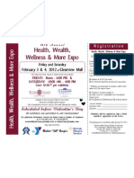 Health, Wealth, Wellness & More Expo Registration 2012