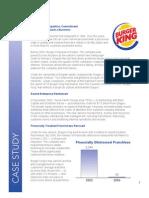 Burger King Case Study Final Oct3107
