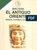 El Antiguo Oriente - Historia, Sociedad y Economia (Mario Liverani)