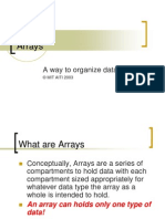 L05 Arrays