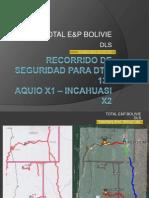 Recorrido de Seguridad Para el DTM del RIG-134 de DLS (Desde Aquio X-1 hasta Incahuasi X-2