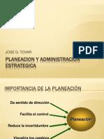 Planeacion y Admin is Trac Ion Estrategica Trabajo