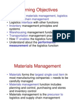 Logistics and Supply Chain Managment