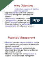 Logistics and Supply Chain Managment