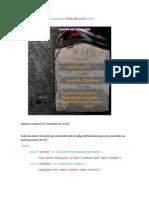 Creacion de Un Formula Rio Funcional en XHTML