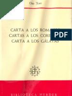Kuss, Otto - Cartas Romanos, Corintios Galatas