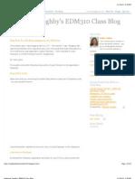 Katherine Zoghby's EDM310 Class Blog