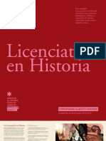 LICENCIATURA EN HISTORIA 2012 - UAH
