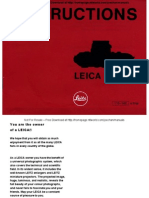 Leica m4p User Manual
