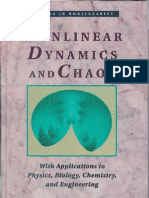 Strogatz 1994] Non-Linear Dynamics and Chaos