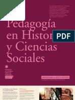PEDAGOGIA EN HISTORIA Y CIENCIAS SOCIALES 2012 - UAH