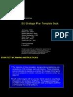 BU Strategic Plan Template Book