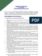 OS - 56 ATIVIDADES DE BALANçA