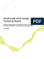 Small-Scale Wind Energy - Technical Report