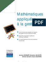 Mathematiques Appliquees a La Gestion