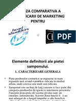 Analiza Comparativa a Comunicarii de Marketing