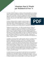 La finance islamique dans le Monde anallysé par Standard