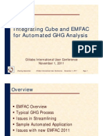Integrating Cube and EMFAC for Automated GHG Analysis
