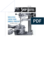 Milling Arm for Drill Press