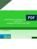 Demand Modeling and Behavioral Economics