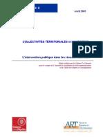 Intervention Publique dans le financement des réseaux haut débit aux USA - Synthèse 2005