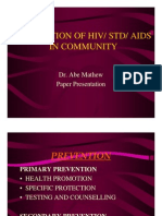 Prevention of Hiv Std Aids in Community