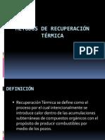 METODOS DE RECUPERACIÓN TÉRMICA expocicion