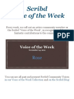 Voice of the Week